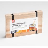 Univerzální dřevěná špachtle 100 ks