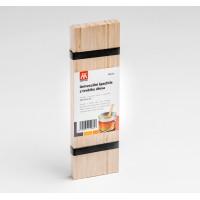 Univerzální dřevěná špachtle 25 ks