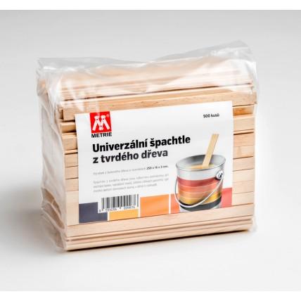 Univerzální dřevěná špachtle 500 ks