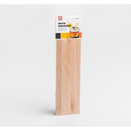 Univerzální dřevěná špachtle  10 ks
